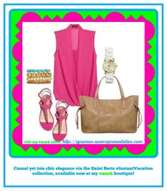 Casual, yet très chic elegance via the Saint Barts #InstantVacation collection available now in my #mark boutique! Looks shown here: ~#mark Berry Breezy Blouse ~#mark Glimmer and Gleam Bracelets ~#mark. Getting Packing Tote ~#mark Berry Stylish Sandals ~#mark White About Now Watch *** To see all of what's new,visit my #mark. store at: http://sgruman.avonrepresentative.com/ #SharonGruman #avon #mark #beautyproducts #makeup #MothersDay