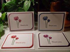 Rachel's Card Corner: Thank You Set