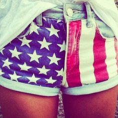 I've never been into the 'murica shorts but.. They've grown on me and I really want some!!
