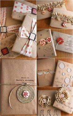 Cette année, soyez différents! 25 idées d'emballages cadeaux - Photo #15