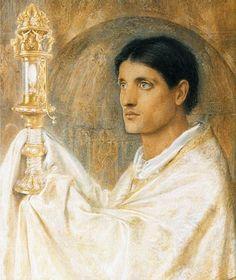 Simeon Solomon, British, 1840 - 1905  The Mystery of Faith