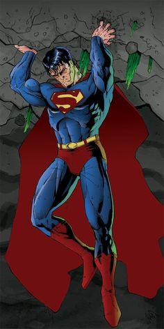 Superman Returns colors by peetietang on DeviantArt Superman And Superwoman, Superman Cape, Superman Man Of Steel, Batman Vs Superman, Superman Images, Superman Artwork, Superman Wallpaper, Marvel Comic Books, Comic Book Heroes