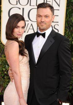 Pin for Later: Retour Sur les 31 Couples Qu'on a Perdu en 2015 Megan Fox et Brian Austin Green
