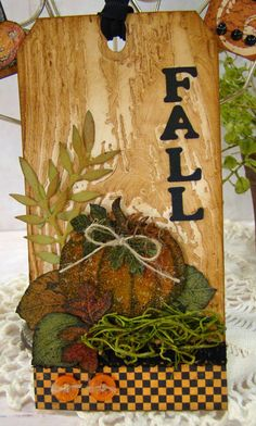Fall Tag by Rene