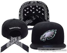 6928005ef5c NFL Philadelphia Eagles Snapback Hat Caps Black Ribbon Strip Adjust 57  cheap for sale