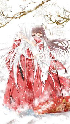 inuyasha, anime, and kagome Bild