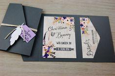 POCKETFOLD+S+50x+Einladungskarten+Set+Hochzeit+von+Wild+Child+Wedding+auf+DaWanda.com