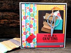 The answer is crafting. Sewing Cards, Marianne Design, Card Tags, Haberdashery, Crafting, Craft Cards, Was, Blog, Seeds