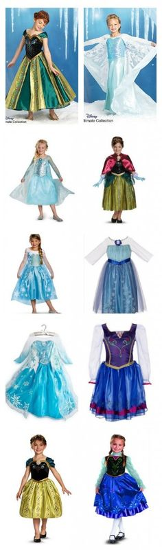10 #Disney Frozen #Halloween Costumes: Where To Purchase (Highs And Lows)
