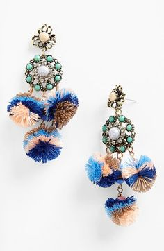 Missing Piece 'Pom Pom' Earrings | Nordstrom