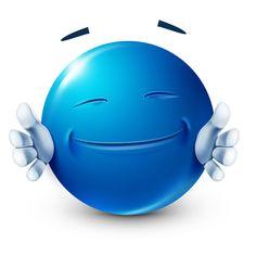 Give me a hug Smiley Emoticon, Animated Smiley Faces, Emoticon Faces, Funny Emoji Faces, Blue Emoji, Emoji Love, Hug Smiley, Emoji Man, Naughty Emoji