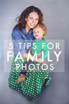 Five Tips for Family Photos #holidayphotos