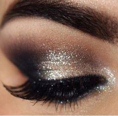 Bride eye makeup