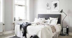 Inspiración para tener un dormitorio de estilo nórdico