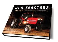 RED Tractors 1958-2013 Hardbound Book