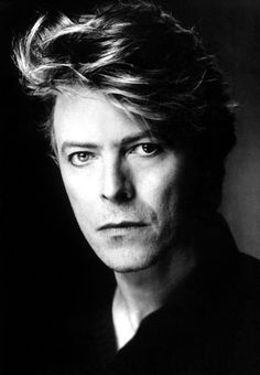 David Bowie Black and white Photo portrait