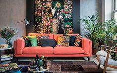 Volgende stap bij het uitzoeken van een bank is de kleur. Wil je een statement m… The next step in selecting a sofa is the color. Living Room Colors, Formal Living Rooms, Living Spaces, Interior Design Living Room, Living Room Designs, Interior Decorating, Interior Exterior, House Colors, Interior Inspiration