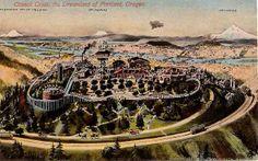 Council Crest Amusement Park, closed in 1929 Portland Oregon