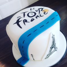 Tour de France cake By Miss Angelcakes