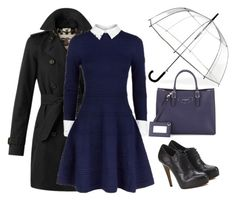 """""""Без названия #330"""" by berlinmoskva ❤ liked on Polyvore featuring Burberry, ShedRain, Alice + Olivia and Balenciaga"""