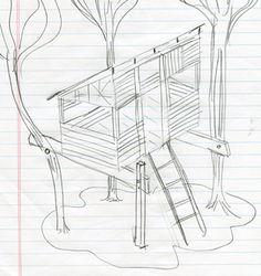 Perfekt Treehouse Baumhaus, Baumhäuser, Baumhausideen, Hinterhof Spielplatz,  Baumhäuser, Hinterhofprojekte, Bänke,