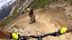 Mountain Biking at St Moritz, Switzerland - Corviglia Flow Trail - VIDEO - http://mountain-bike-review.net/mountain-bikes/mountain-biking-at-st-moritz-switzerland-corviglia-flow-trail-video/ #mountainbike #mountain biking