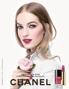 CHANEL Spring 2015 Make Up Collection | Vanessa Axente by Sølve Sundsbø #ChanelBeauty