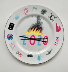 2020 Plate 'Well That Happened' – Oliver Jeffers Stuff