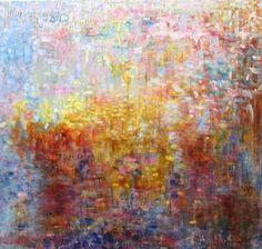 "Saatchi Art Artist daphne verheijke; Painting, ""spring"" #art"