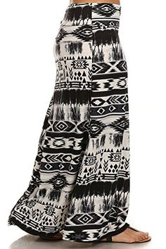Fashion Plus Size Black Tribal Aztec High Waist Full Length Plus Fashion Maxi Skirt www.fashionbug.us #plussize 1X 2X 3X 4X 5X