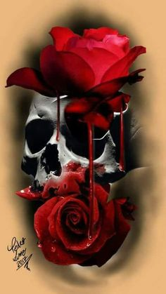 cranio e rosas/ skull and roses tattoo designs free digital arts arts for tattoo tattoo ideas art tattoo drawing tattoo drawing ideas tattoo designs drawings arts 2018 tattoo artist at work tattoo artist design designs tattoo drawing Robot girl. Skull Tattoo Flowers, Skull Rose Tattoos, Flower Tattoos, Body Art Tattoos, Sleeve Tattoos, Rose Drawing Tattoo, Tattoo Sketches, Tattoo Drawings, Rose Zeichnung Tattoo