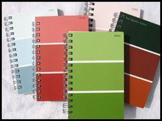 paint sample journals