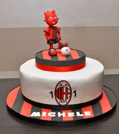 AC Milan Birthday Cake Ideas