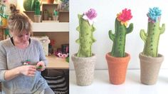 So excited to announce that we are introducing drop in workshops to our Spring Market! First up is the lovely Laura from @little_egg_design who creates gorgeous textiles plants. Come along to the market and make your own!  Make a mini cactus with Little Egg 12pm-4pm 12.00 per person Approx 30mins Customise and make your very own Little Egg flowering felt cactus. These cute spiky little guys make fab gifts for the plant lover in your life or treat yourself to a unique customised decoration…
