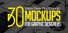 30 Free Photoshop PSD Mockups for Graphic Designers