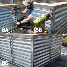 All About Our New Galvanized Steel Raised Beds (Free Plans!) A full tutorial on how to build Galvanized Steel Raised Beds, why they are better than any other types of raised beds, and how to turn them into easy cold frames. Raised Bed Frame, Metal Raised Garden Beds, Raised Garden Bed Plans, Building Raised Garden Beds, Raised Beds, Raised Gardens, Vertical Gardens, Magic Garden, Container Gardening Vegetables