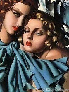 Girls By Tamara de Lempicka. (1930).