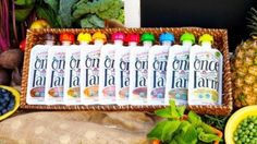 Once Upon a Farm aims to disrupt baby food category with HPP pouches
