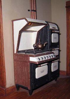 handmade kitchen stove