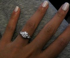 1000+ ideas about Three Stone Rings on Pinterest | Engagement Rings, Round Diamonds and Diamond Engagement Rings