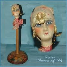 a51bf9a4165 24 Best Vintage Dolls  Head Hat Stands images in 2019