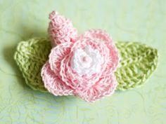 Crochet Rose pattern