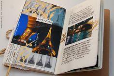 Journal Diary, Bullet Journal, City Journal, Junk Journal, Book My Trip, Lunch Boxe, Paris Eiffel Tower, Eiffel Towers, Paris Travel