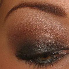 brown smokey eyes tutorial