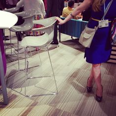 We also love the newly refinished Wink chair @ Love, Chair, Amor, Stool, Chairs