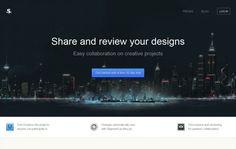 Shipment App - Share and review your designs - Webdesign inspiration www.niceoneilike.com