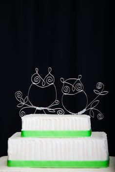 Owl Cake Topper Love love loveeee