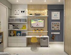Big Girl Rooms, Boy Room, Loft Playroom, Kids Room Design, Home Staging, Design Case, Kids Bedroom, Room Inspiration, Room Decor