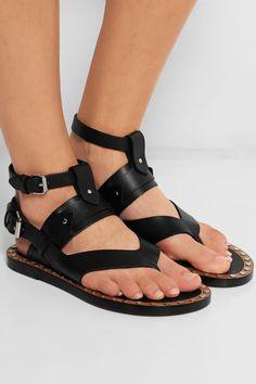 Isabel MarantJusty stud-embellished leather sandals