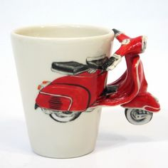 buy large scooter mugs | Selling the brand: non-automotive marketing for automobiles...